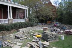 Bluestone Garden Walls and Patio in Moorestown, NJ (2)