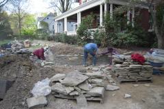 Bluestone Garden Walls and Patio in Moorestown, NJ (3)