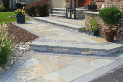 Bluestone Step and Entrance in Mt. Laurel, NJ (1)