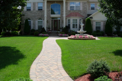 Cobblestone Walkway in Lumberton, NJ