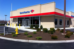 Commercial Landscape for Bank of America in Marlton, NJ (2)