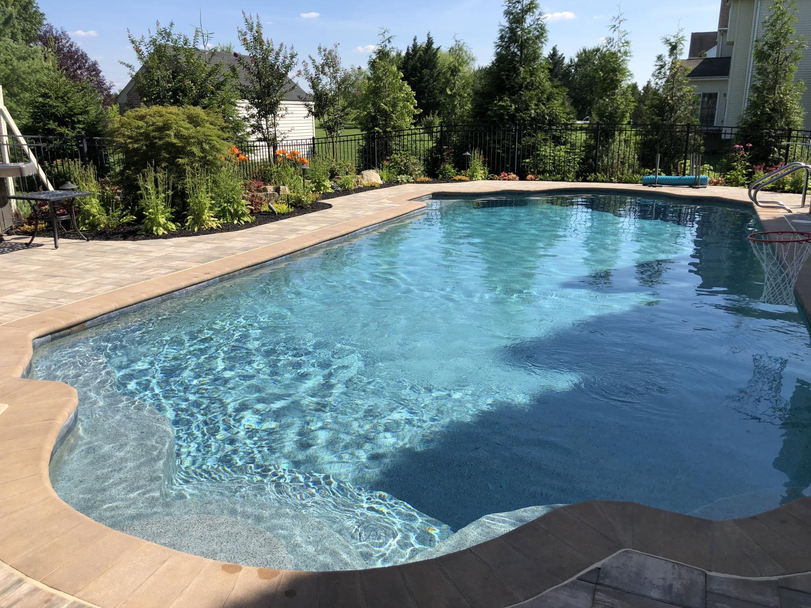 South Jersey Custom Pool Builders Sls Landscaping Nj