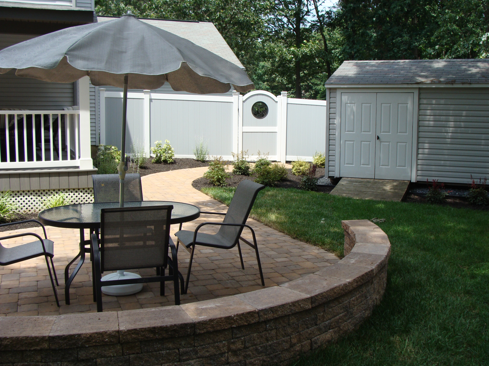 Pool Patio and Grilling Station in Westampton, NJ   SLS ... on Patio Grill Station id=64554