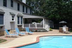Pool Patio and Grilling Station in Westampton, NJ (2)