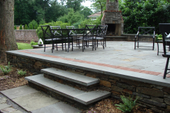 Stone Patio, Fireplace and Cooking Station in Moorestown, NJ  (3)