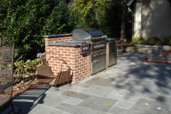 Stone Patio, Fireplace and Cooking Station in Moorestown, NJ  (6)