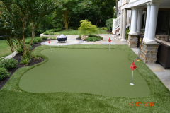 Synthetic Putting Green in Moorestown, NJ (1)