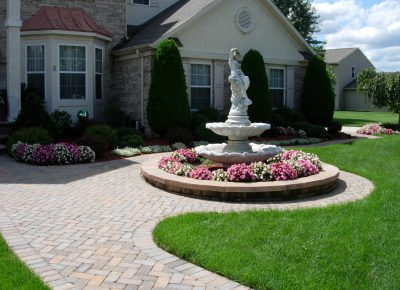 Cobblestone Walkway in Lumberton, NJ (2)