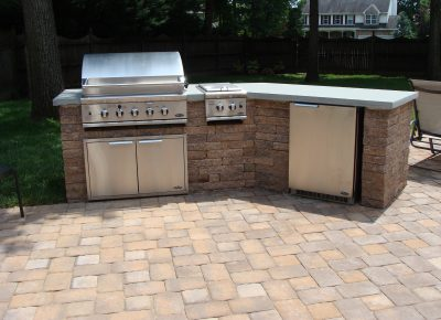 Pool Patio and Grilling Station in Westampton, NJ
