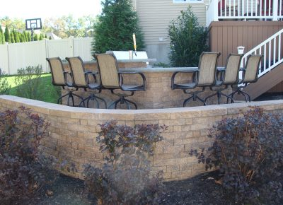 Terraced Patio and Kitchen in Mt. Laurel, NJ